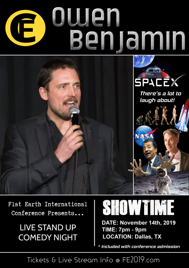 Owen Benjamin Flat Earth Comedy Show